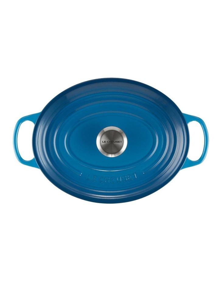 Signature Oval Casserole 27cm Marseille Blue image 3