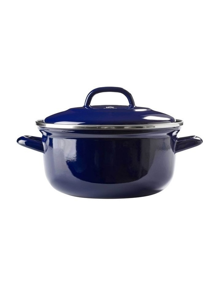Dutch Oven Blue with Blue Interior 22cm image 1