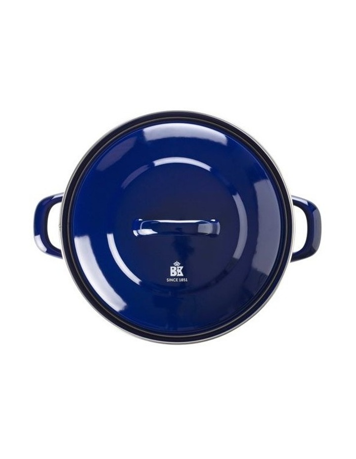 Dutch Oven Blue with Blue Interior 22cm image 2