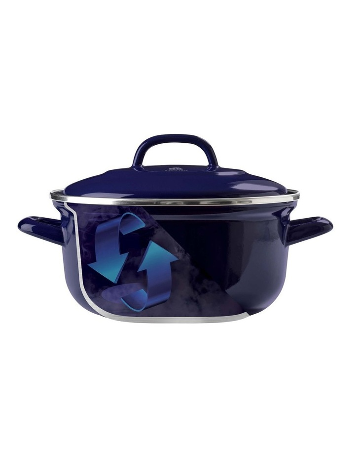 Dutch Oven Blue with Blue Interior 22cm image 4
