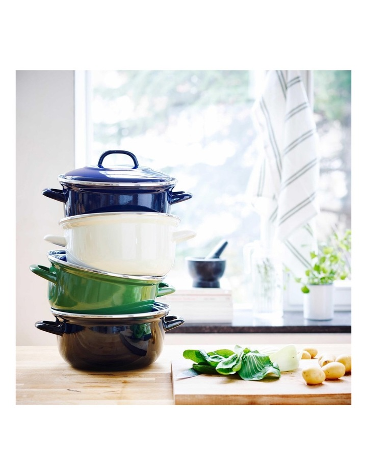 Dutch Oven Blue with Blue Interior 22cm image 5