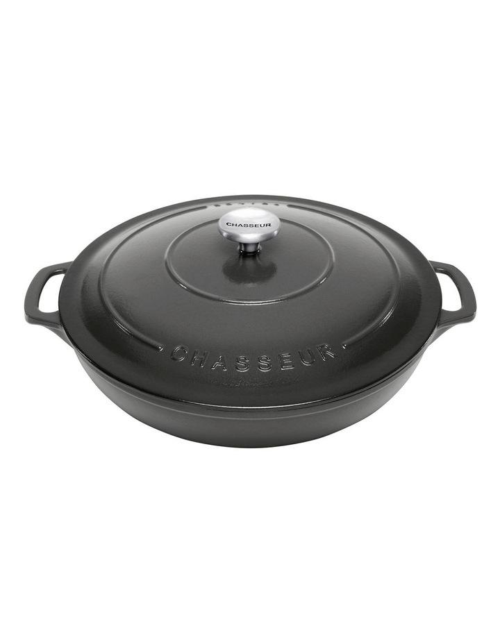 30cm/2.5 Litre Round Casserole in Black image 1