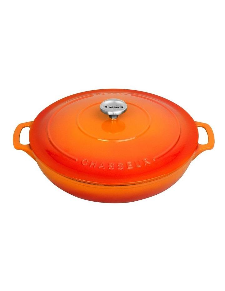 30cm/2.5 Litre Round Casserole in Orange image 1