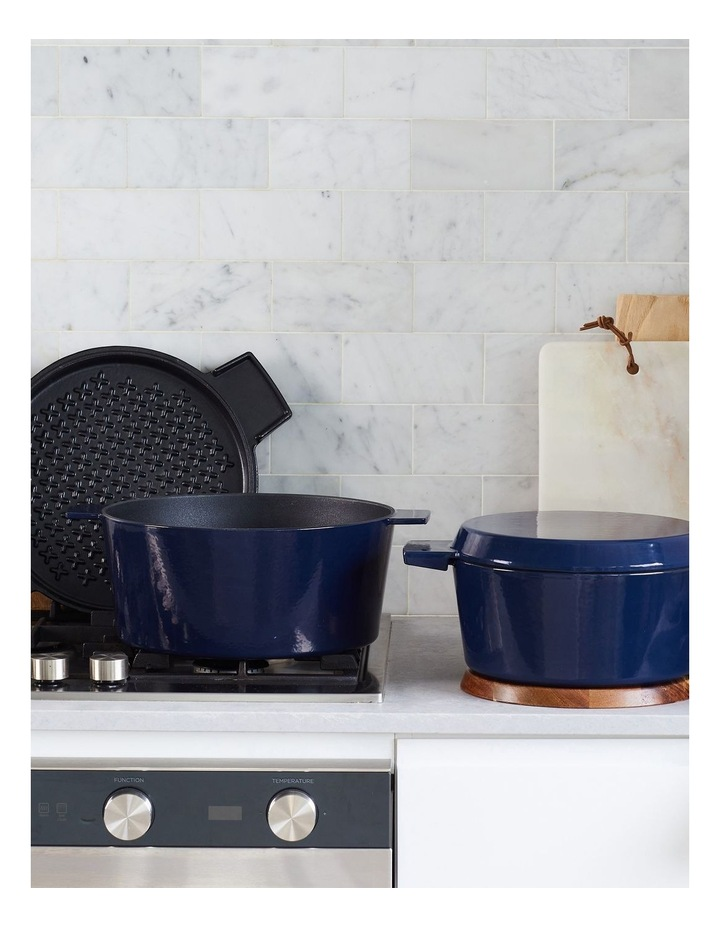 FRENCH OVEN GRILL DUO Midnight Blue 24cm / 3.5L image 2