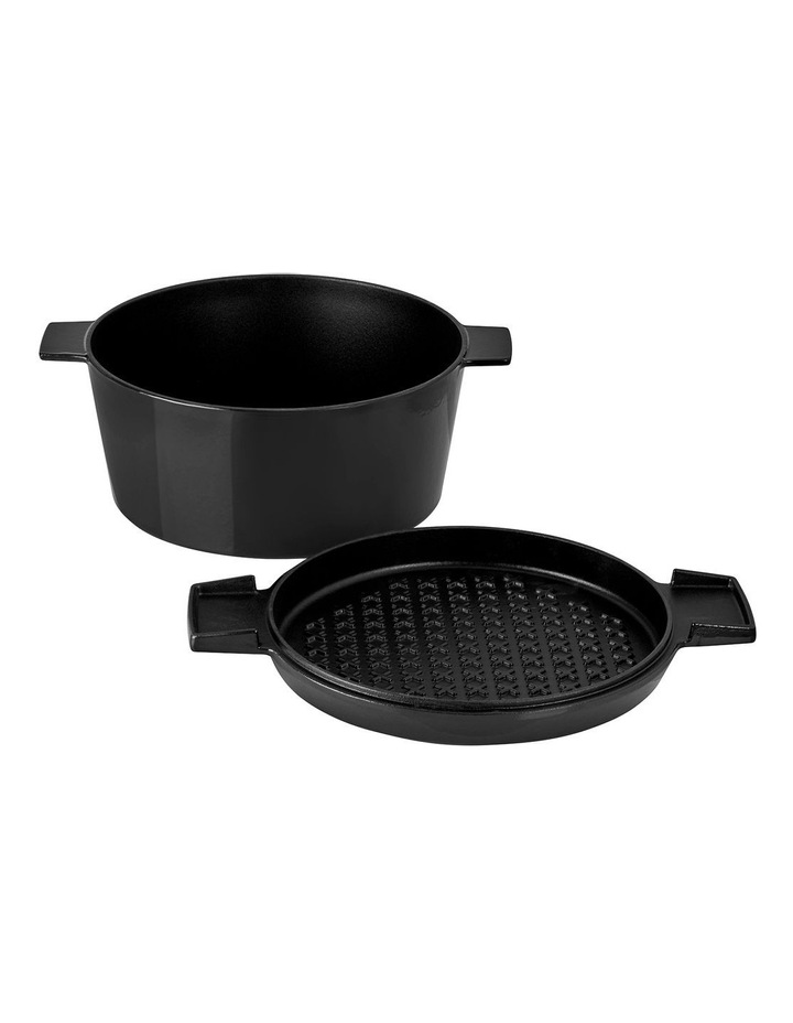 FRENCH OVEN GRILL DUO Onyx 28cm / 6.5L image 3