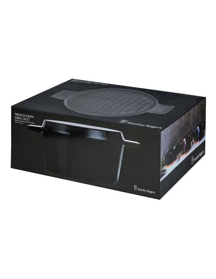 FRENCH OVEN GRILL DUO Onyx 28cm / 6.5L image 4
