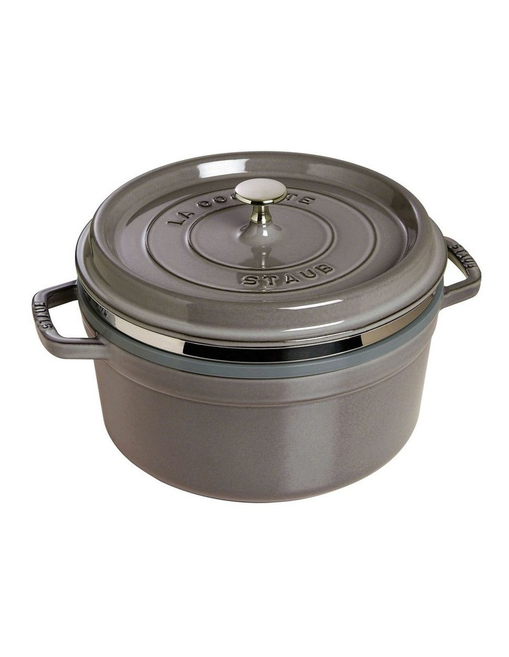 Round Cocotte w/ Steamer 26cm/5.2L image 1