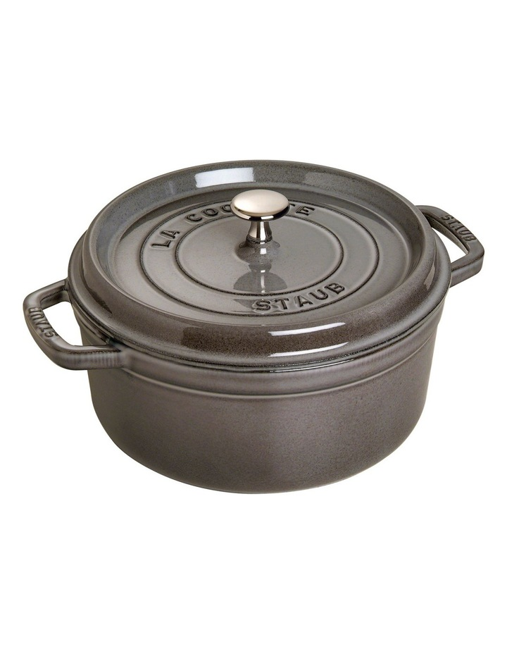 Cast Iron Round Cocotte - Graphite: Made in France image 1