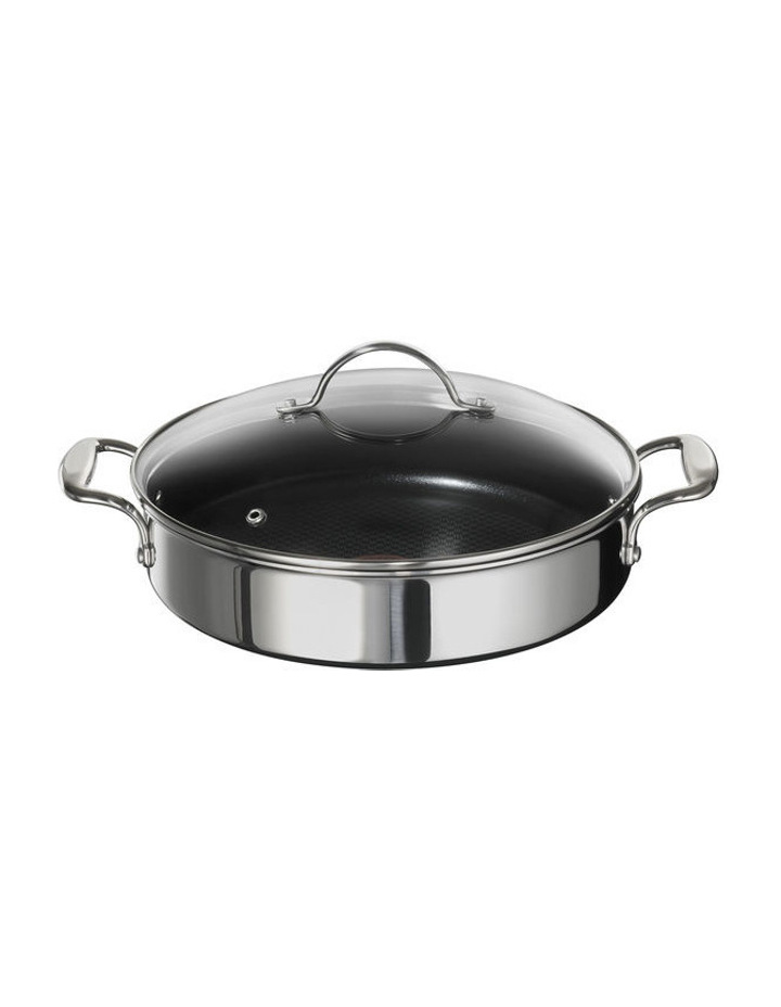 Heritage Triply Stainless Steel 28cm Non-Stick Pot Roast image 1