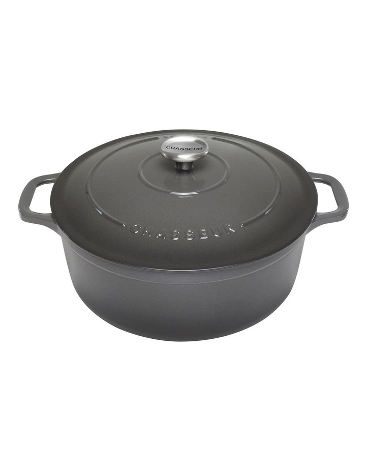 Round French Oven 26cm/5 Litre Caviar image 1