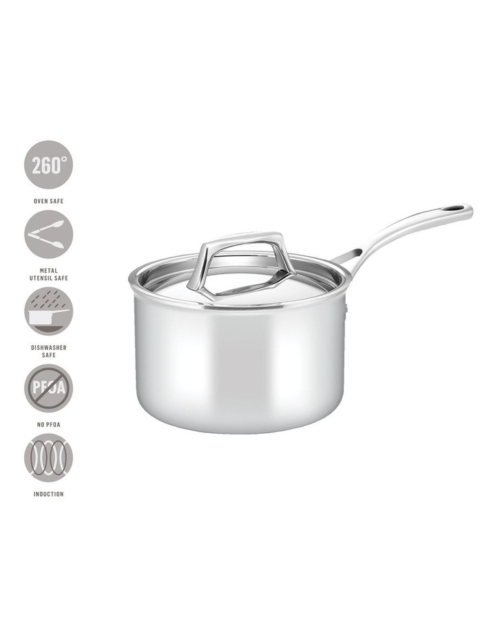 Per Sempre Stainless Steel 18cm/2.8L Induction Covered Saucepan image 4