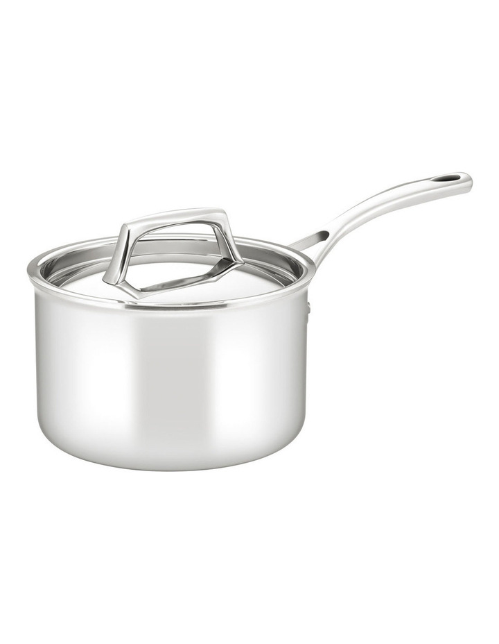 Per Sempre Stainless Steel Clad Saucepan: Made in Italy image 1
