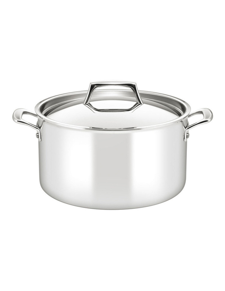 Per Sempre Stainless Steel Clad 26cm/7.6L Stockpot: Made in Italy image 1