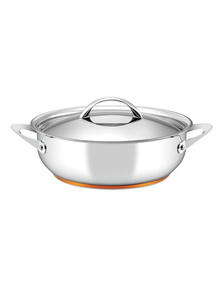 Per Vita Stainless Steel 28cm/5.2L Induction Covered Sauteuse image 1