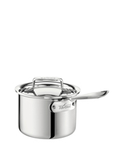 D5 5-Ply Stainless Steel 15cm/1.9L Saucepan: Made in the USA