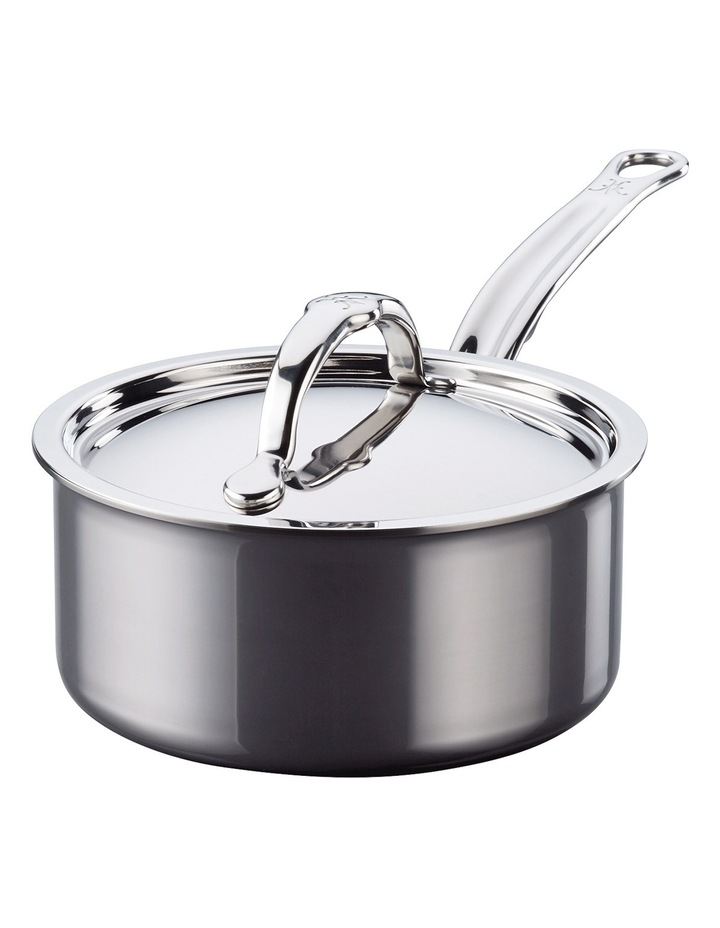 Nanobond Covered Saucepan, 16cm/1.4L: Made in Italy image 1