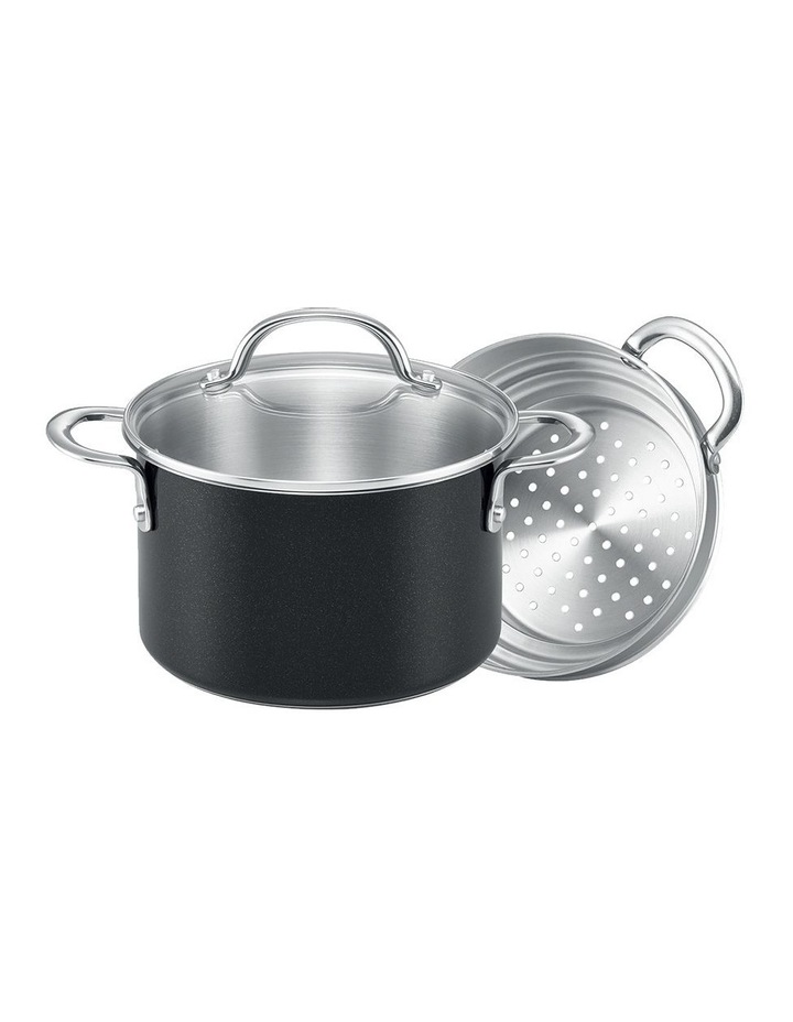 Luminescence 2pce Steamer Set- 20cm Covered Saucepot & 20cm Universal Steamer Insert 2HH image 1