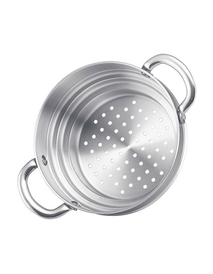 Luminescence 2pce Steamer Set- 20cm Covered Saucepot & 20cm Universal Steamer Insert 2HH image 3