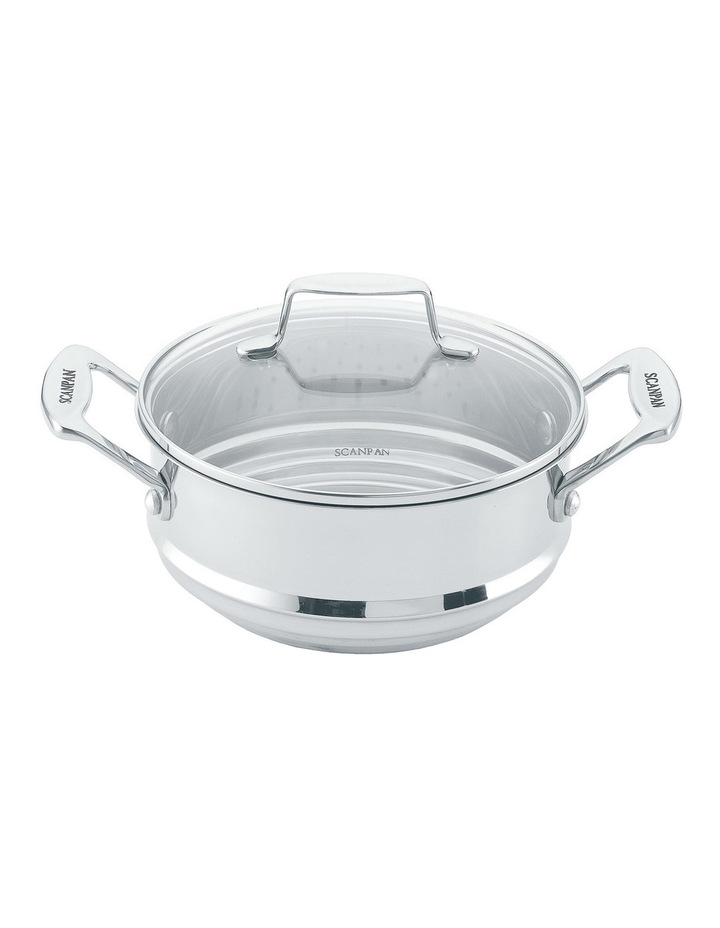 Impact Multi Steamer Insert with Lid to Fit 16/18/20cm image 1