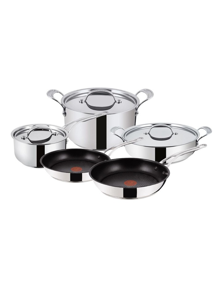 Premium Stainless Steel 5-piece Cookware Set image 1