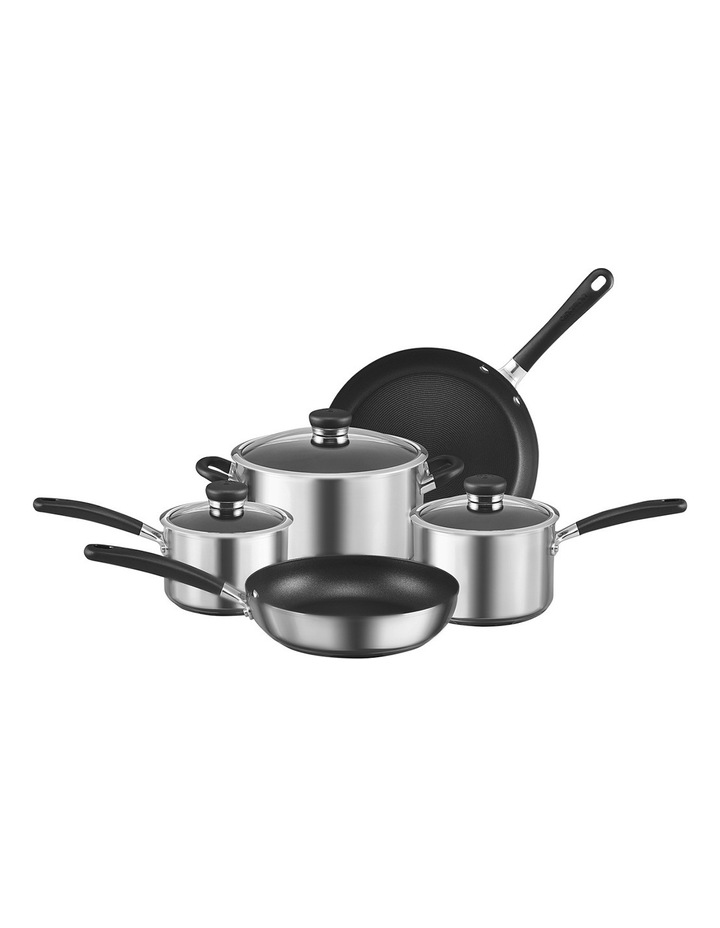 Ultimum Stainless Steel 5pc non-stick cookware set image 1