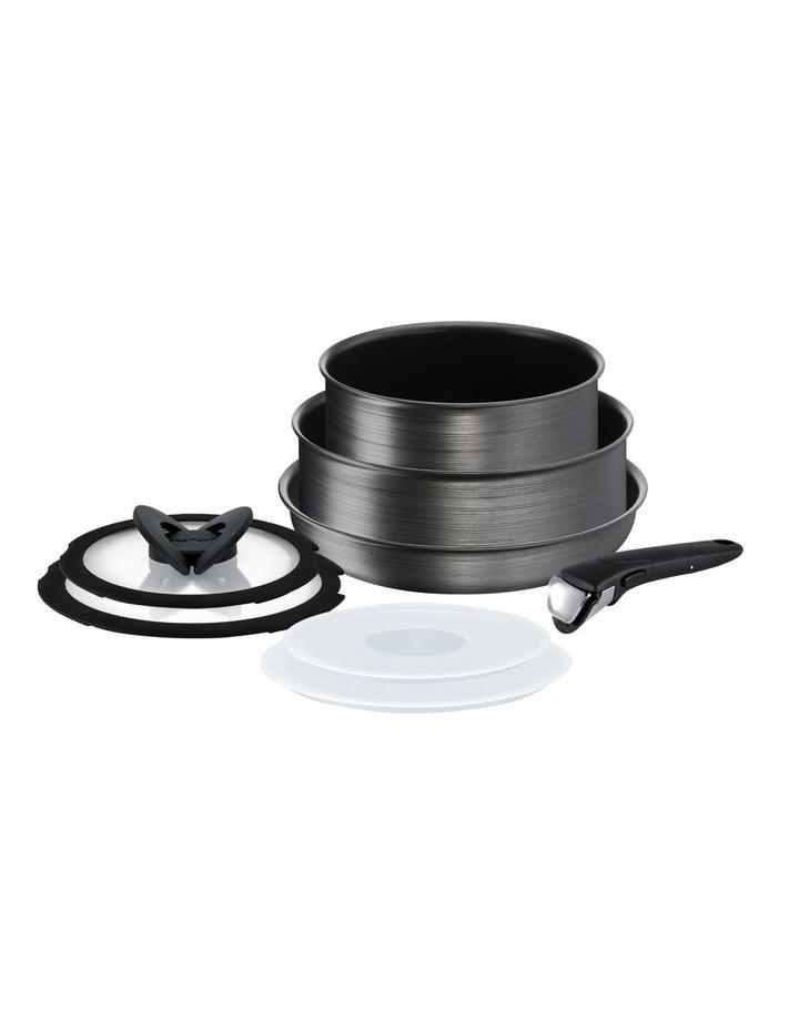 Ingenio Titanium Fusion Non-stick Induction 8pc Cookware Set image 1