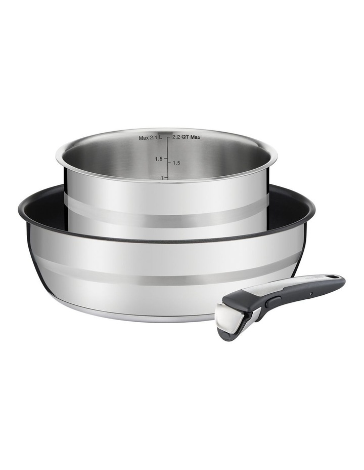Ingenio Induction Stainless Steel Induction 3pc Pot Set image 1