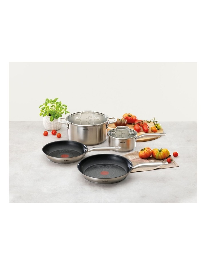 Virtuoso Stainless Steel Induction 4pc Cookware Set image 2