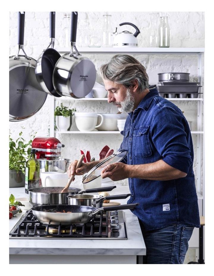 KitchenAid Classic Stainless Steel 3 Piece Saucepan Set image 2
