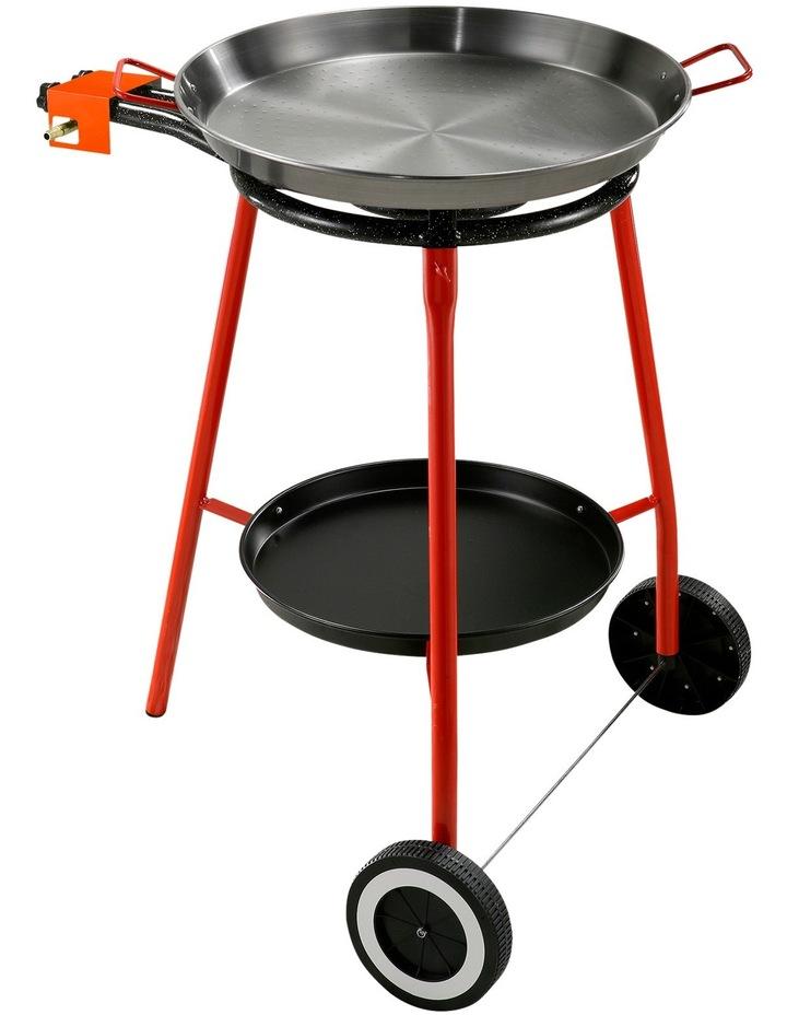Andreu Paella Gas Burner Set With 46cm Carbon Steel Paella Pan: Made in Spain image 1