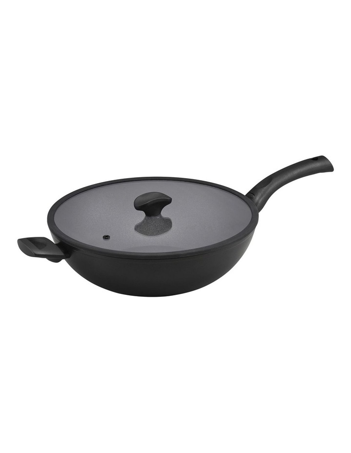 Essteele Per Salute 32cm Covered Stirfry with helper handle image 1