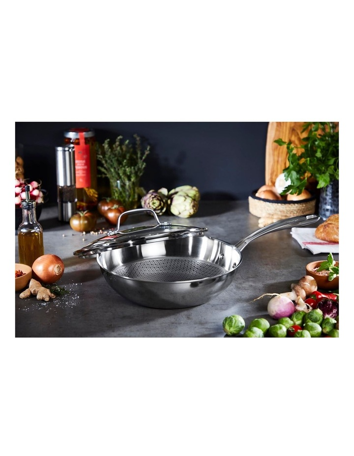 Eternal Stainless Steel Induction Wok w/lid 28cm image 4