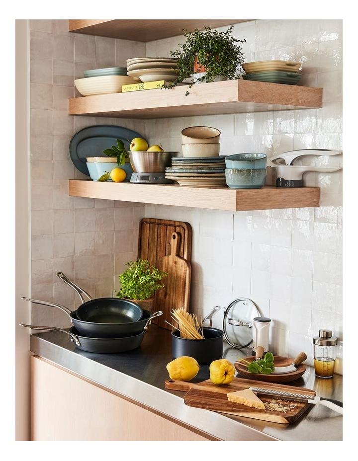 Cooks Classic 30cm Hard Anodised induction Wokpan in Coal Grey image 2