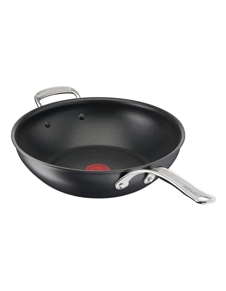 Cooks Classic 30cm Hard Anodised induction Wokpan in Coal Grey image 3