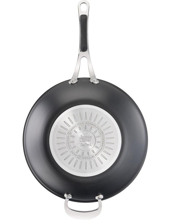 Cooks Classic 30cm Hard Anodised induction Wokpan in Coal Grey image 6