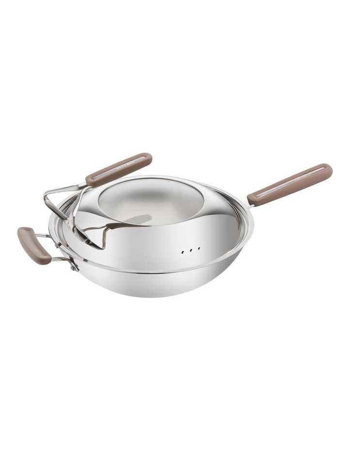 Intensium Triply Specialty Wok 32cm   Lid and Bonus Spatula image 1