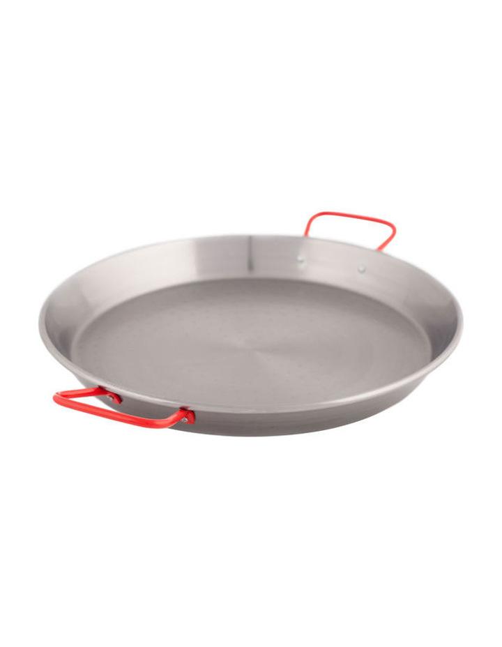 Carbon Steel 38cm Paella Pan: Made in Spain image 1
