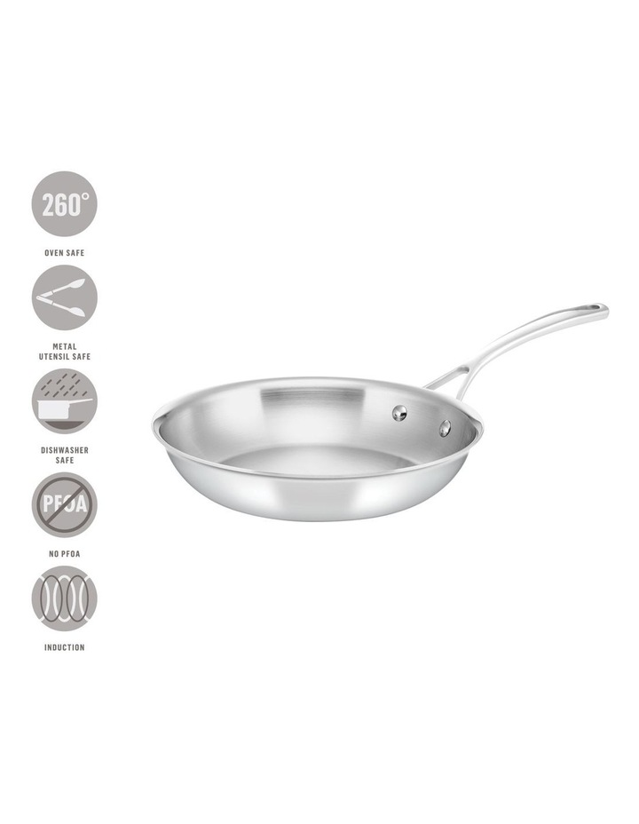 Per Sempre Stainless Steel 26cm Induction Open French Skillet image 3