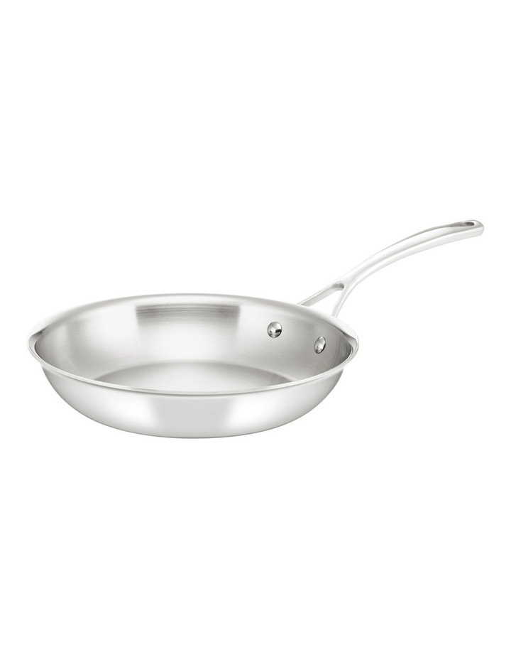 Per Sempre Stainless Steel Clad 26cm Frypan: Made in Italy image 1