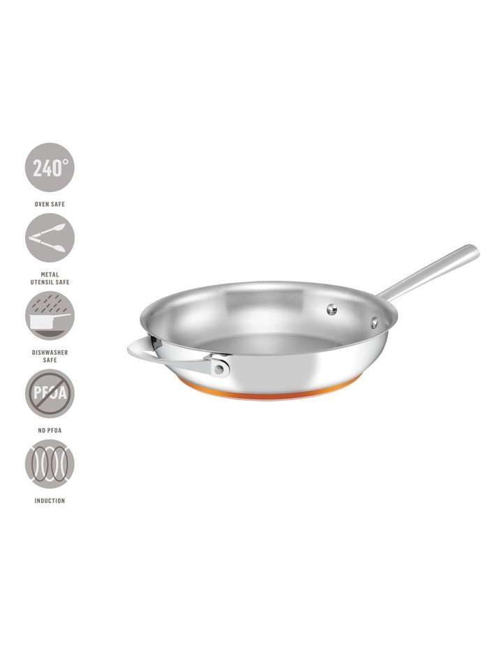 Per Vita Stainless Steel 28cm Stainless Steel Induction French Skillet image 3