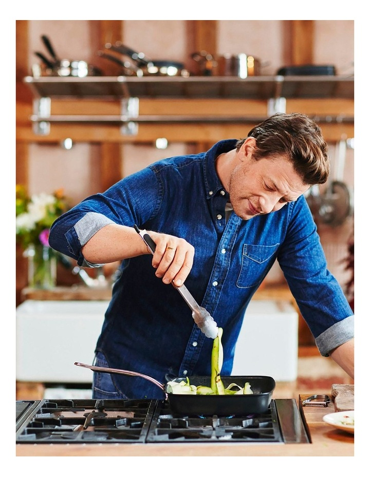 Jamie Oliver Premium Hard Anodised Non-Stick Induction Shark Tooth Grill image 2