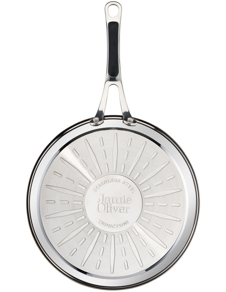 Premium stainless steel 24cm & 28cm non-stick frypan twin pack image 4