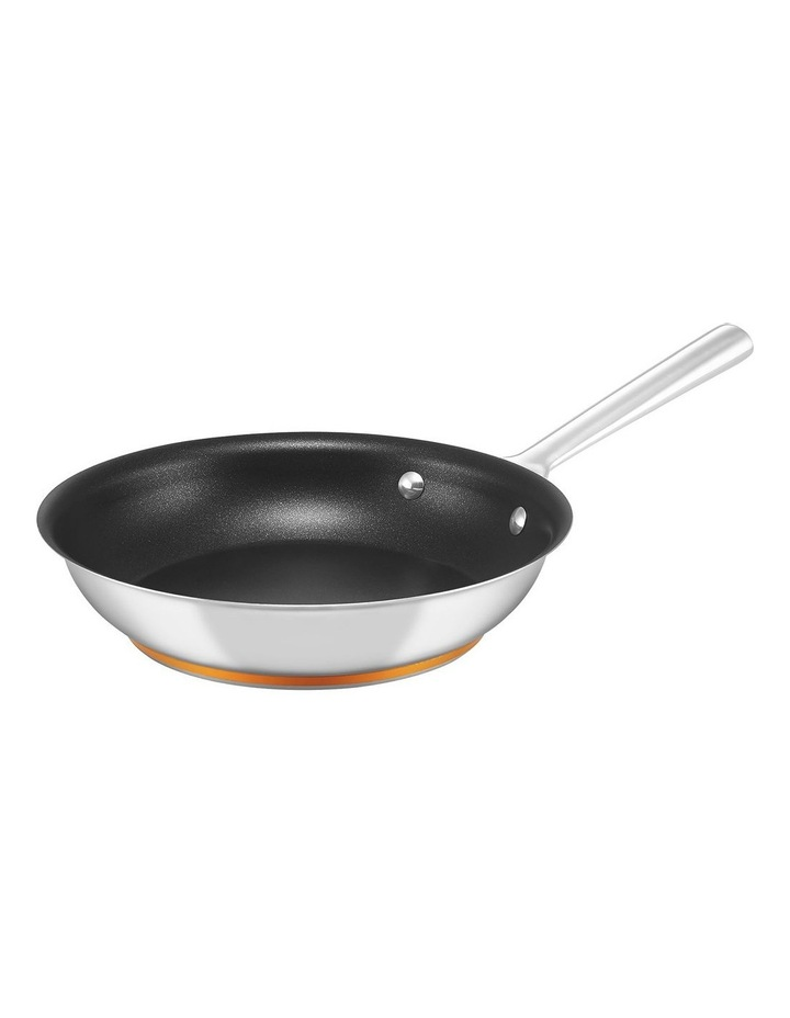Per Vita Stainless Steel 24cm Non-Stick Induction Skillet image 1