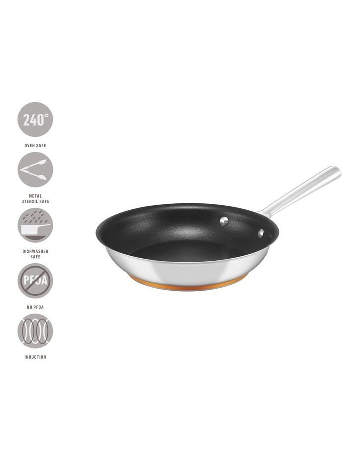 Per Vita Stainless Steel 24cm Non-Stick Induction Skillet image 3