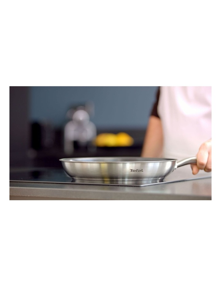 Virtuoso Induction Stainless Steel Frypan 28cm image 5