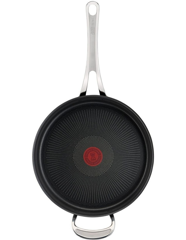 Cooks Classic Hard Anodised Induction Sautepan w/lid 26cm image 5