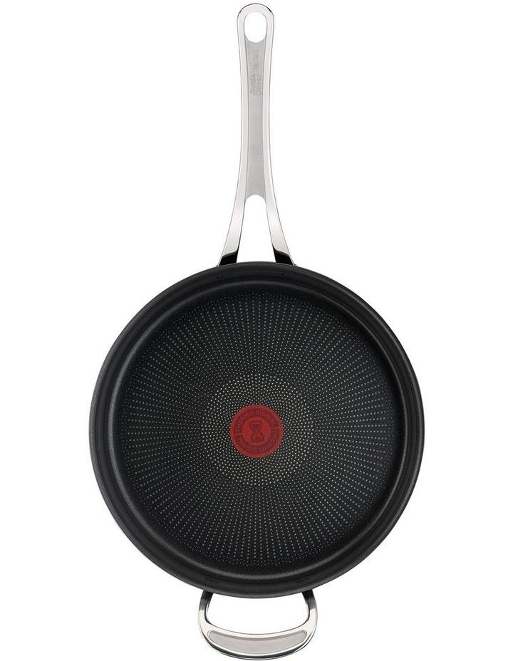 Cooks Classic Hard Anodised Induction Sautepan w/lid 26cm image 5