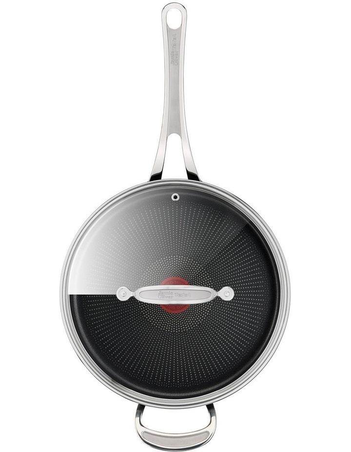 Cooks Classic Hard Anodised Induction Sautepan w/lid 26cm image 6