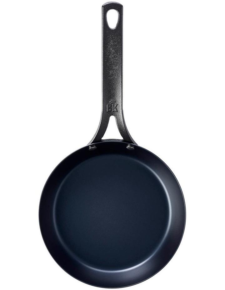 Black Steel Frypan 30cm image 2