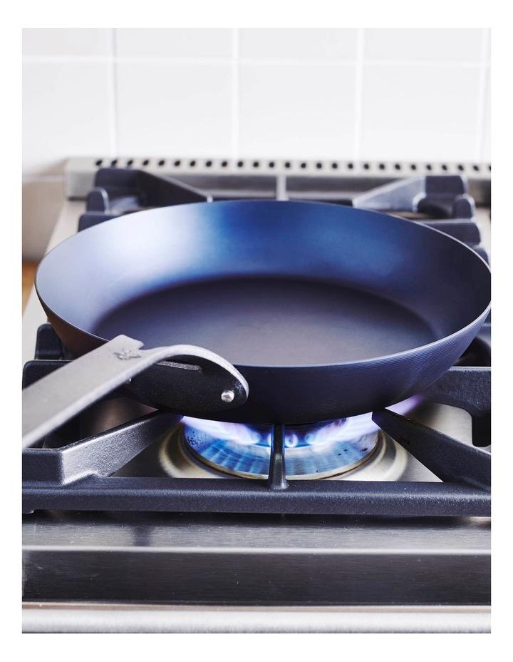 Black Steel Frypan 30cm image 4